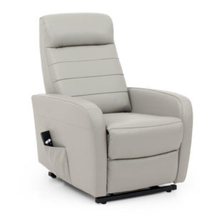 Kofu Modern Half Leather Riser Recliner