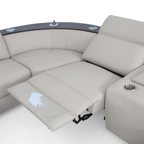 Shizuoka Smart Electric Motion Recliner Sofa Set