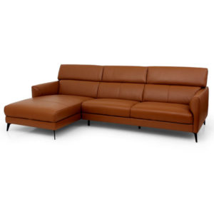 Anton Leather Sofa